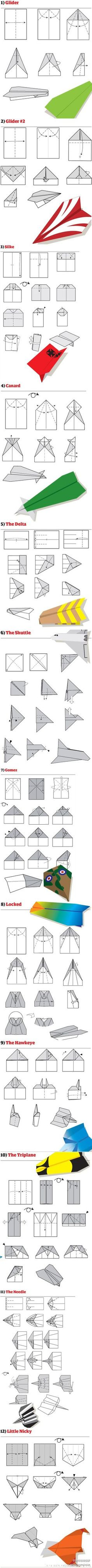 how to make paper airplane jp and audrey pinterest airplanes