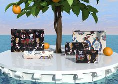 Spanish brand Bimba y Lola present their special edition summer range featuring amazing illustrations by Kitsch Nitsch. The brand's playful range of footwear and accessories include vividly printed scarves, simple shoppers and tech accessories. We love their CGI style summer campaign.