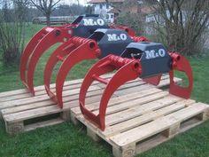 M&O Holzzange Rückezange Verladezange Holzgreife