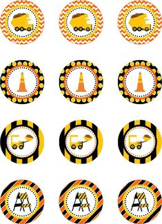 Construction Truck Party Cupcake Toppers por DBCelebrations ideas at home Construction Cupcakes, Construction Birthday Parties, Construction Party, Cars Birthday Parties, Birthday Party Decorations, Diy Birthday, 2nd Birthday Boys, Birthday Themes For Boys, Birthday Ideas