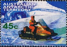 Australian Antarctic Territory 1998 Transportation Skidoo Fine Used SG 123 Scott L109 Other Australian Antarctic territory Stamps HERE