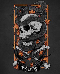 The first shirt design for @pokolypse_clothing is ready! We will test print it in the next days. Do you like the design as much as we do? #illustration #draw #sketch #art #instaart #handdrawn #drawing #skull #artist #blackandwhite #skull #skulls #snake #fairtrade #sweatshirt #tattooart #tshirtdesign #tshirt #design #ink #leafs #bones #merch