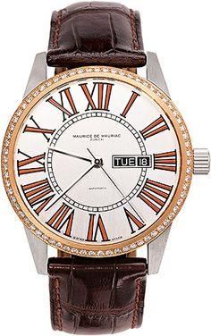 Automatic Modern watch from Swiss Watchmaker Maurice de Mauriac. swiss watches women, womens watches. Visit our website for more luxury swiss watches: http://www.mauricedemauriac.ch/