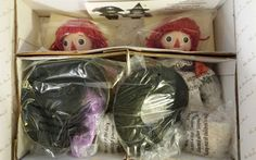 Danbury Mint Halloween with Raggedy Ann & Andy NIB #DanburyMint