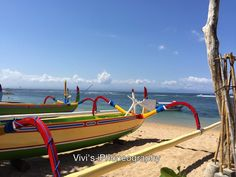 Enjoying the sun and sands of Sanur Beach, Bali-Indonesia