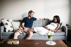 Brooklyn maternity session by Brookelyn Photography Mixed Couples, Cute Couples, Happy Couples, Maternity Session, Maternity Photography, Biracial Couples, Interacial Couples, Interracial Family, Black Woman White Man