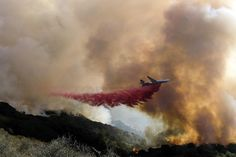 Shifting winds challenge crews fighting California fire Los Padres National Forest, California Wildfires, Santa Barbara County, Forest Service, Gas And Electric, Northern California, Firefighter, Weather Watch, Wind Damage