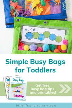 Busy Bags for Toddlers eBook