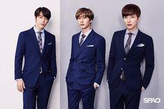 Donghae, Eunhyuk, Leeteuk