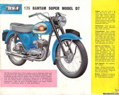 British Motorcycles of the 1960s from Birmingham Small Arms | Sheldons EMU