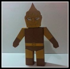 Spectreman Free Paper Toy Download - http://www.papercraftsquare.com/spectreman-free-paper-toy-download.html