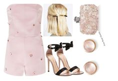 """Untitled #1443"" by cheresh ❤ liked on Polyvore featuring Gianvito Rossi, Katie Ermilio, ASOS, Alexander McQueen, Kabella Jewelry, women's clothing, women's fashion, women, female and woman"