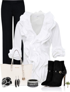"""""""Black and White Contest"""" by cindycook10 on Polyvore"""
