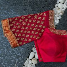 Blouse Back Neck Designs, Hand Work Blouse Design, Kids Blouse Designs, Stylish Blouse Design, Fancy Blouse Designs, Wedding Saree Blouse Designs, Maggam Work Designs, Embroidery Blouses, Embroidery Suits