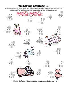 valentine's day menu free download