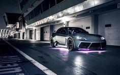 Mazda RX-8, tuning, sportcars, night, Mazda