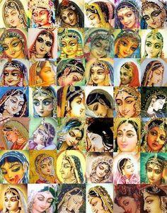 Srimati Radharani – Page 2 – The Hare Krishna Movement Hare Krishna, Radha Krishna Love, Lord Krishna Wallpapers, Radha Krishna Wallpaper, Lord Krishna Images, Radha Krishna Pictures, Tanjore Painting, Krishna Painting, Iskcon Krishna