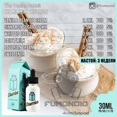 Things You May Want To Know About PG VG ELiquid Ingredients and Carcinogens - The Vape Generation Diy Vape Juice, Vape Diy, E Juice Recipe, Vape Facts, Clone Recipe, Cinnamon Sugar Cookies, Bavarian Cream, Ice Cream Floats, Funny