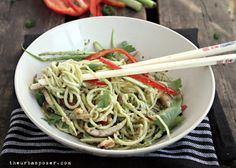 Noodles & Veggies Asian Pesto Sauce