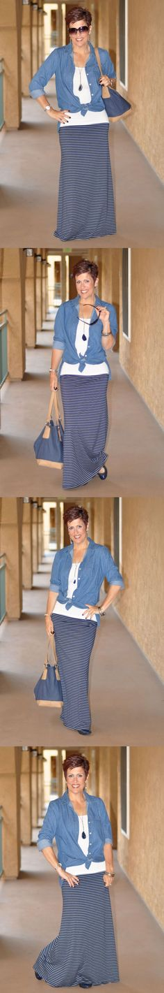 Dress With Purpose :: Be Inspired :: Travel :: Denim & Maxi :: Choose everyday to Dress With Purpose! www.dresswithpurpose.com
