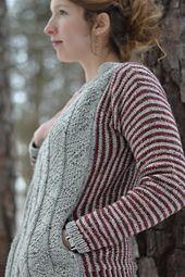 Ravelry: Eastwood Cardigan pattern by Allyson Dykhuizen
