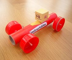 how to build a mousetrap car with household items