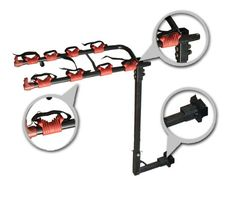 New Deluxe Hitch Mounted Bicycle Bike Rack for 4 Bicycles-Auto88 -- Click on the image for additional details.