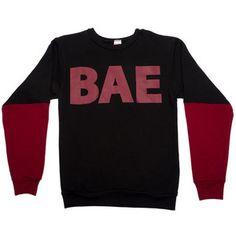 We Are Pop Culture The BAE Sweatshirt in Black
