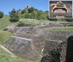 The largest known pyramid in the world is that of Cholula in Mexico