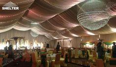 800 metru pătrat Cort de nunta cu decor complet. Dublura de lux, covor și pânză de masă.