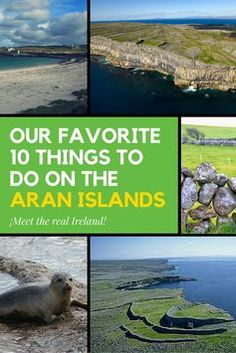 What the Aran Islands islands lack in size, they make up for with things to do! Here are 10 of our favourite things to do on the Aran Islands. Ireland Vacation, Ireland Travel, Oh The Places You'll Go, Places To Visit, Dublin Ireland, Belfast Dublin, Cork Ireland, Emerald Isle, Travel Abroad