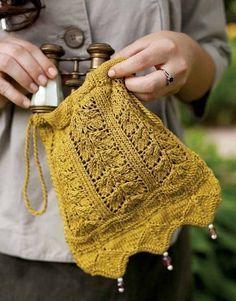 Netherfield Evening Bag Knitting Pattern - Patterns - Knitting