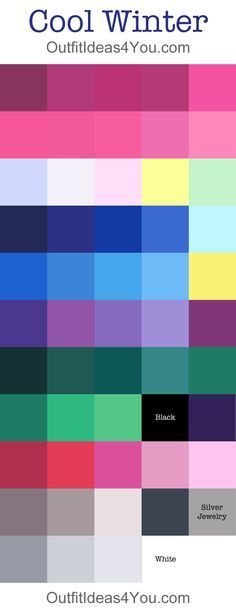Image result for vivid winter colors