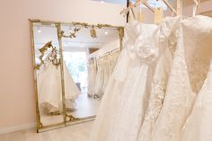 Someday.. I will have my own bridal boutique that is just as classy as this one.