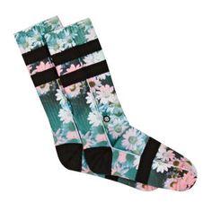 Stance Socks - Stance Dizzy Socks - Black