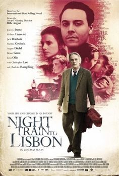 Night Train to Lisbon movie poster (2013) POSTER