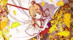 Anime Sword Art Online  Asuna Yuuki Fondo de Pantalla