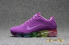 a0e189be364df9 Women Nike Air VaporMax 2018 Plastic Nanotechnology The New Technology  Environmental Protection All Boring Zoom Running Shoes Purple Multi-Color  Discount