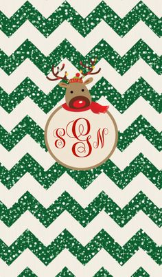 All New Christmas Theme Monograms From Monogram Custom Wallpaper App