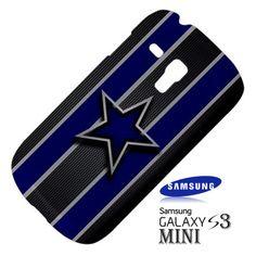 NFL Dallas Cowboys Logo Samsung Galaxy S3 MINI I8190 Hardshell Case Cover - PDA Accessories