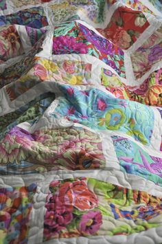 Gorgeous colors and quilting