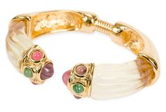 Givenchy Lucite Hinge Bracelet on OneKingsLane.com love this...Lucite is light and over time has real character.
