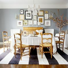 One Kings Lane — Live.Love.Home: Paint color: Delray Gray by Benjamin Moore