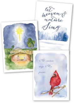 Share the true reason for the season when you send these festive ICR Christmas cards to your loved ones this year! Christmas Greetings, Christmas Cards, Science Resources, Popular Books, Watercolor Paintings, First Love, Festive, Seasons, Artist