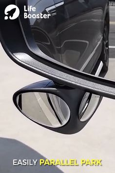 Blind Spot Auxiliary Mirror 😍 These blind spot mirrors are super helpful with parallel parking. Parallel Parking, Car Gadgets, Home Security Systems, Truck Accessories, Car Cleaning, Cool Tools, Cool Items, Van Life, Cars And Motorcycles