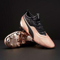 wholesale dealer 64d80 a1c6e Botas de fútbol - Puma One 1 Passion FG AG - Oro Rosado Negro