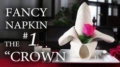 """Fancy Napkin #1 - The """"Crown"""" (+playlist)"""