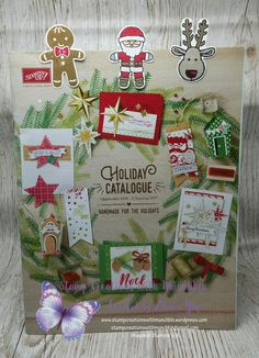 Cookie Cutter Christmas Bookmarks  #cookiecutterchristmas  #holidaycatalogue2016  #stampinup  #stampinupdemonstrator  #stampcreationswithmunchkin