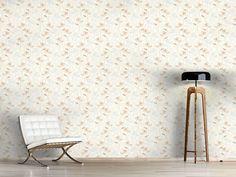 Design #Tapete Rosen Garten Der Fünfziger Flora, Delicate, Curtains, Rugs, Design, Home Decor, Self Adhesive Wallpaper, Dots, Wall Papers