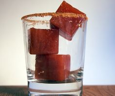 Bloody Mary ice cubes! Freeze George's Bloody Mary Mix ® in ice cube trays and toss a cube or two in sauces and soups for a real kick of flavor!
